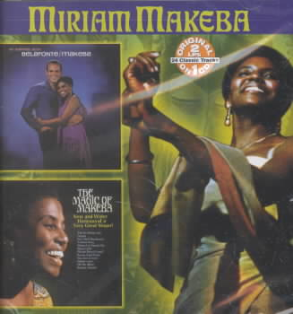 AN EVENING WITH/MAJIC OF BY MAKEBA,MIRIAM (CD)
